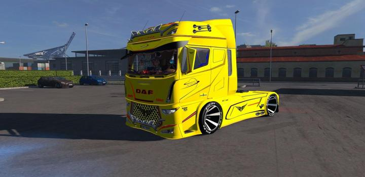 Photo of ETS2 – Daf Evo Wing Truck (1.37.x)