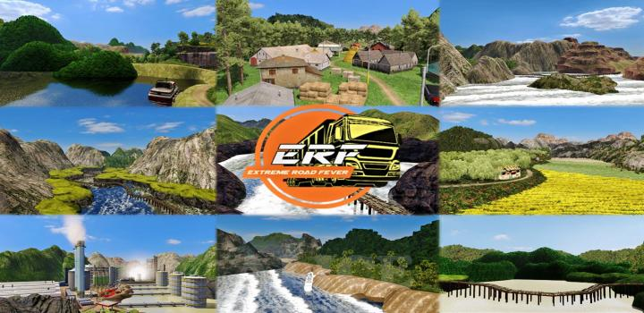 Photo of ETS2 – Extreme Road Fever: Erf Map (1.37.x)