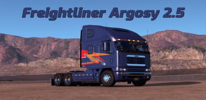 Photo of ETS2 – Freightliner Argosy V2.5 (1.37.x)