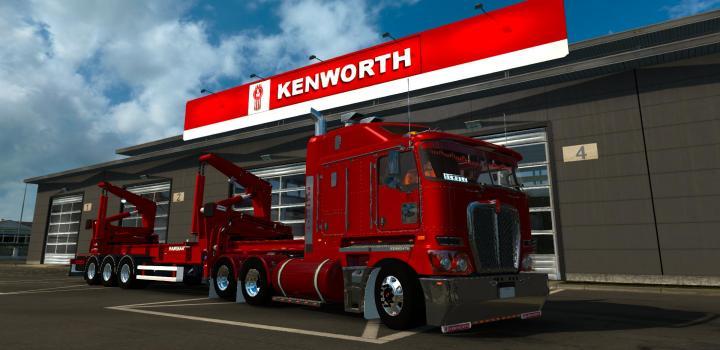 Photo of ETS2 – Kenworth K200 V14.3 (1.37.x)