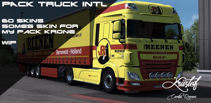 Photo of ETS2 – Kriistof Pack Truck International (1.37.x)