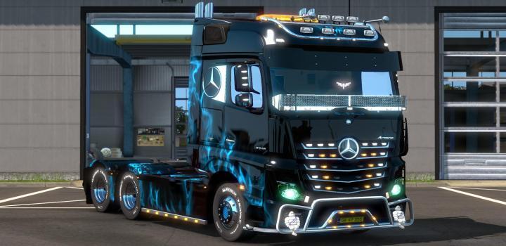 Photo of ETS2 – Mercedes Actros 2014 Eu/Uk Multiplayer (1.37.x)