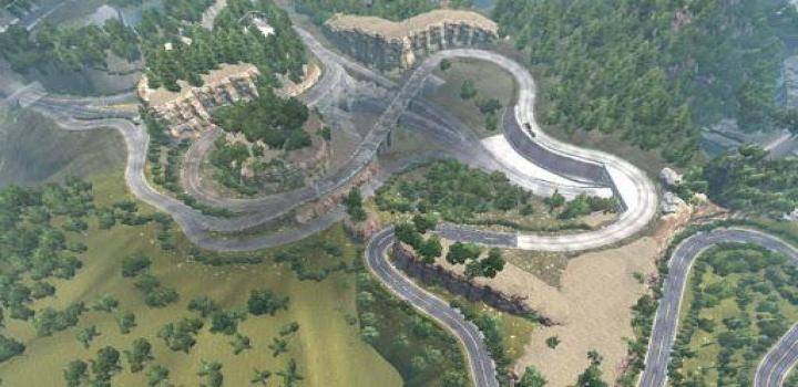 Photo of ETS2 – Mountains Map (1.37.x)