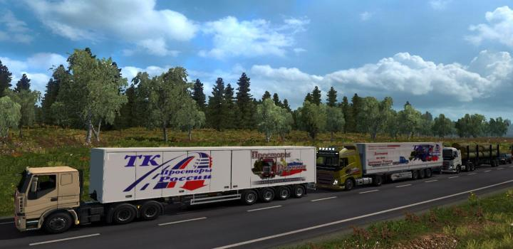 Photo of ETS2 – Russian Open Spaces V7.8 (1.37.x)