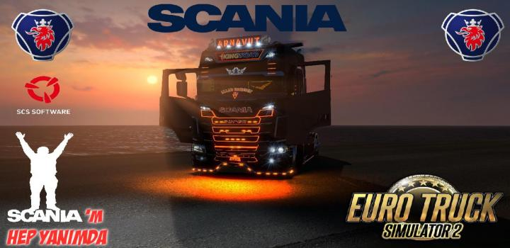 Photo of ETS2 – Scania R-S Addons V5.5 (1.37.x)