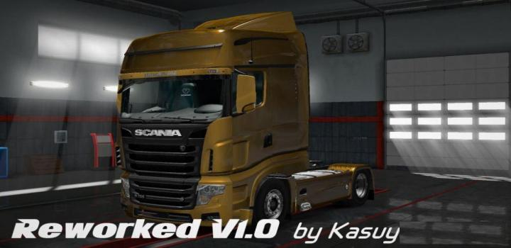 Photo of ETS2 – Scania R700 Reworked V1.0 (1.28.x)