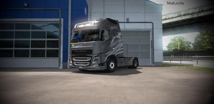 Photo of ETS2 – Volvo Fh 2012 Corbel Transport Style Metallic V1.0 (1.37.x)