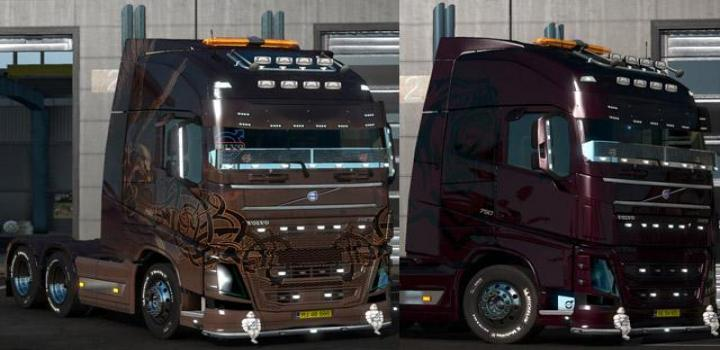 Photo of ETS2 – Volvo New Fh With 2 Skins Multiplayer (1.37.x)