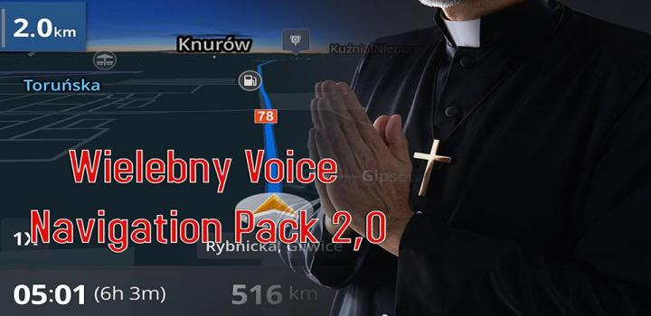 Photo of ETS2 – Wielebny Voice Navigation Package V2.0 (1.37.x)