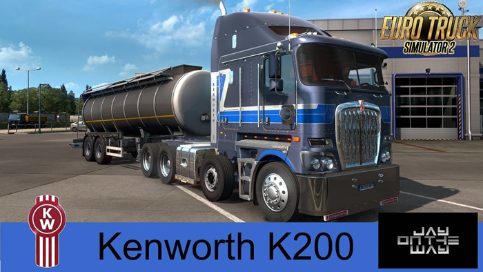Photo of ETS2 – Kenworth K200 (1.37.x)