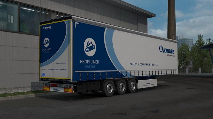 Photo of ETS2 – Reworked Krone Profiliner V1.3 Fixed (1.37.x)