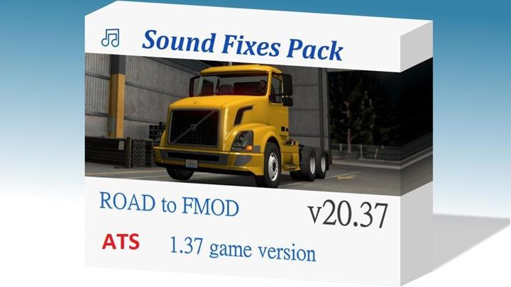 Photo of ATS – Sound Fixes Pack V20.37.2 (1.38.x) Beta