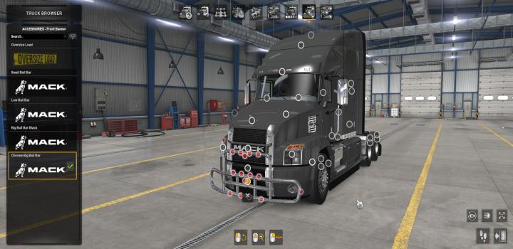 Photo of ATS – Bullbars For Scs Mack Anthem V1.1 (1.38.x)