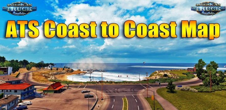 Photo of ATS – Coast To Coast Map V2.12 (1.38.x)