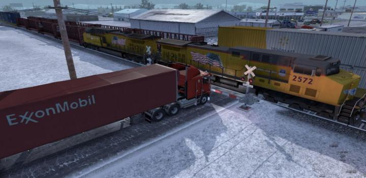 Photo of ATS – Improved Trains Compatibility Addon for Real Traffic Density (1.38.x)