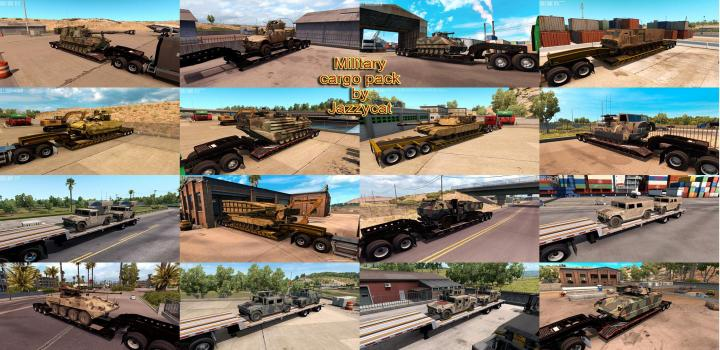 Photo of ATS – Military Cargo Package V1.3.2 (1.38.x)
