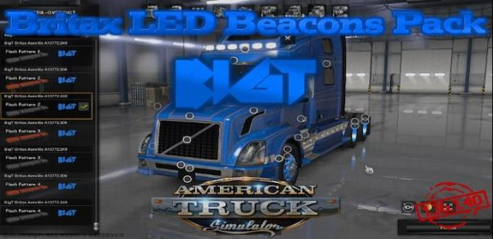 Photo of ATS –  Mod Bigt Britax Led Beacons Pack V14.07.20 (1.38.x)