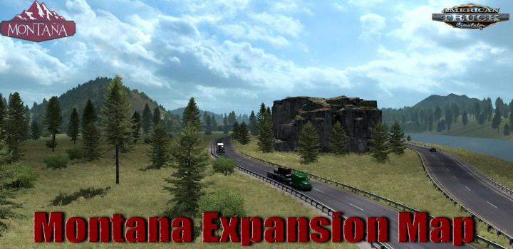 Photo of ATS – Montana Expansion Map V0.7.5 (1.38.x)