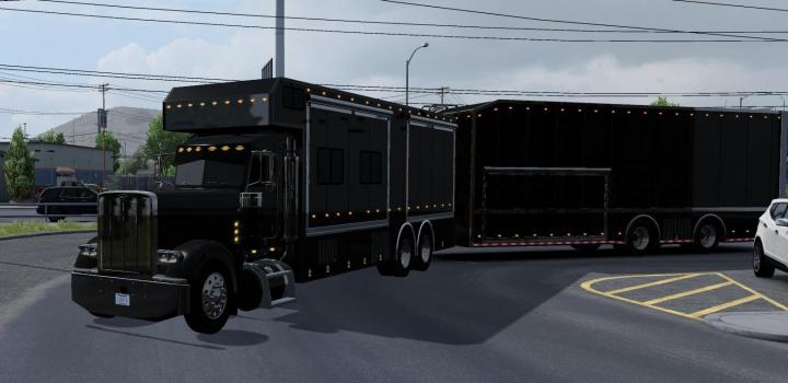 Photo of ATS – Peterbilt 389 Longhood Update Fix (1.38.x)
