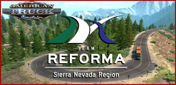 Photo of ATS – Sierra Nevada Map V2.2.24 (1.38.x)
