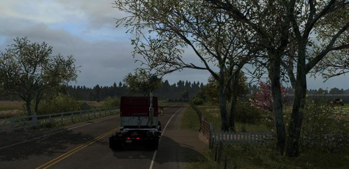 Photo of ATS – Spring Graphics/Weather V1.1 (1.38.x)