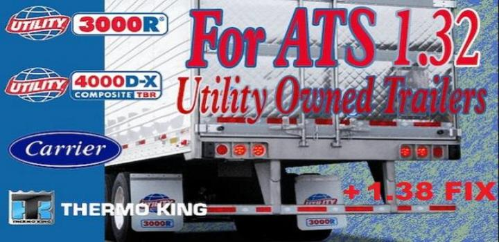 Photo of ATS – Utility 3000R/4000D-X Owned Trailer Fix (1.38.x)
