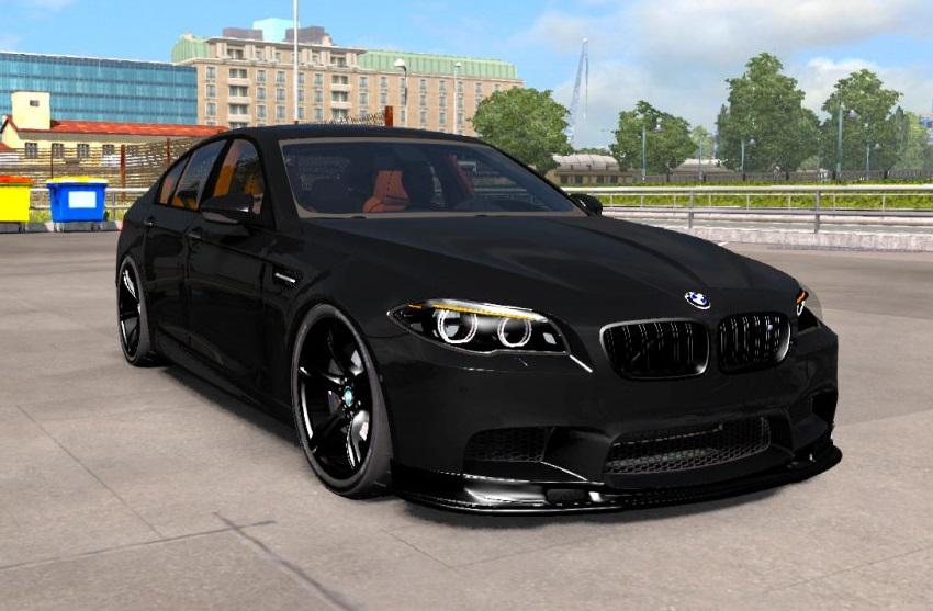 Photo of ATS – Bmw M5 F10 + Interior V1.1 (1.37.x)