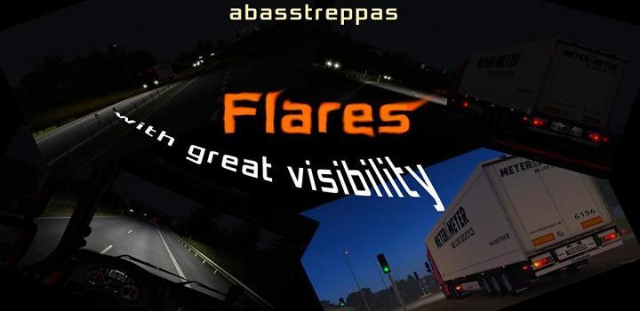 Photo of ETS2 – Abasstreppas Flare Pack V1.4.1 (1.37.x)
