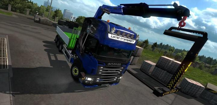 Photo of ETS2 – Abroll Scania Rjl By Fhj Transporte V1.2 (1.38.x)