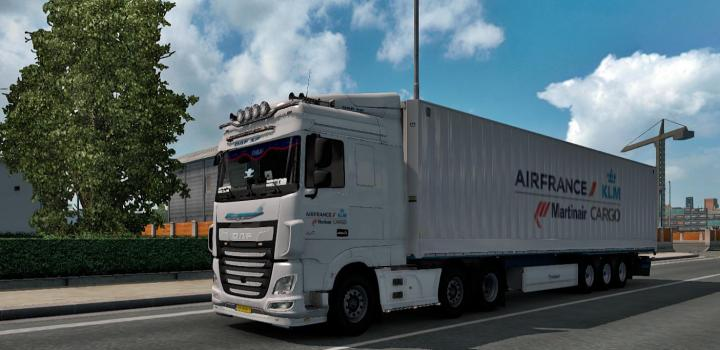 Photo of ETS2 – Aircargo Skin for Krone Dryliner (1.38.x)