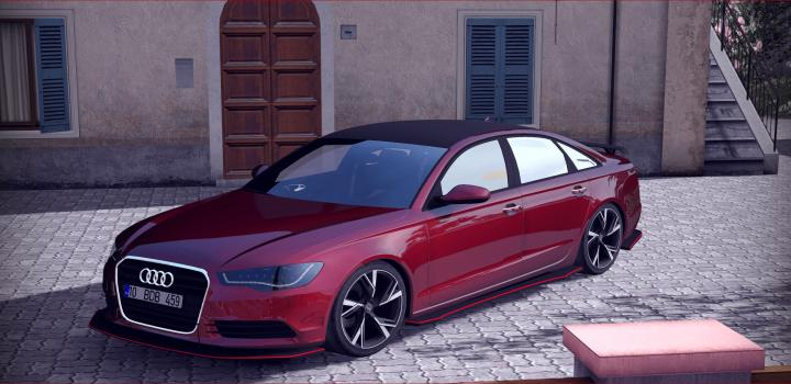 Photo of ETS2 – Audi A6 Stance (1.37.x)