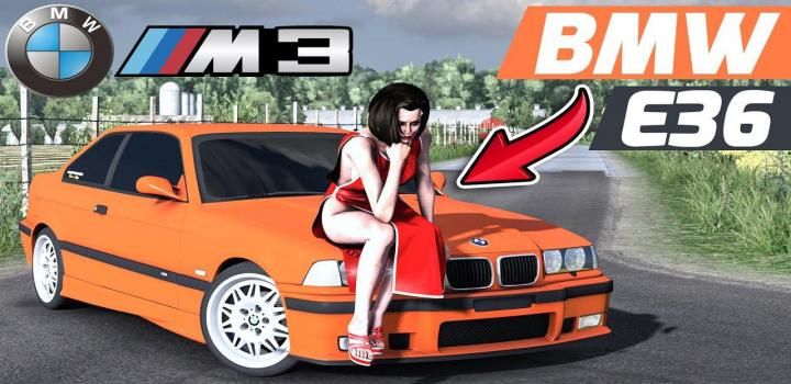 Photo of ETS2 – Bmw E36 Unlocked (1.37.x)