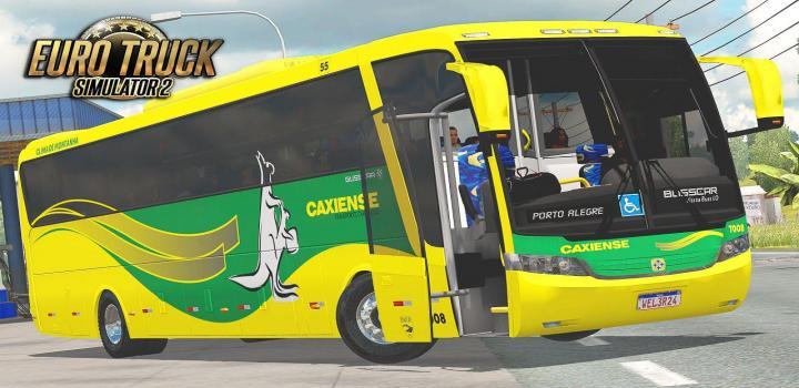 Photo of ETS2 –  Busscar Vissta Buss Lo Scania K124 V2 (1.38.x)