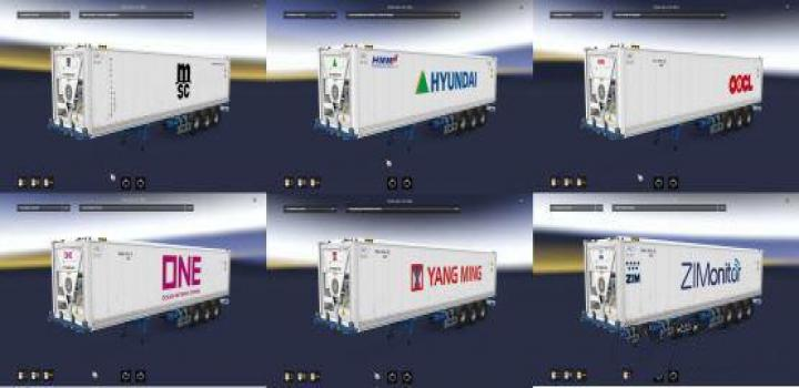 Photo of ETS2 – Cargo Pack Reefer Container Freight Market V1 (1.38.x)