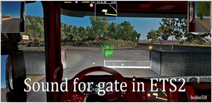 Photo of ETS2 – Gate Sound (1.38.x)