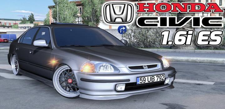 Photo of ETS2 – Honda Civic Ies Unlocked (1.37.x)