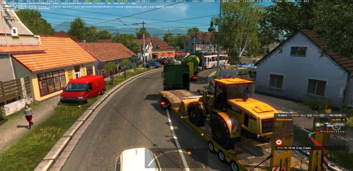 Photo of ETS2 – Hungary Map 0.9.28B (1.38.x)