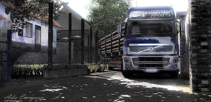 Photo of ETS2 – Icrf Map Mod Only (1.37.x)