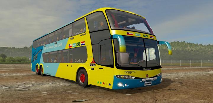 Photo of ETS2 – Marcopolo G6 1800 Dd 6X2 Bus (1.38.x)