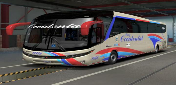 Photo of ETS2 – Marcopolo G7 1200 4X2 Skins Colombia (1.38.x)
