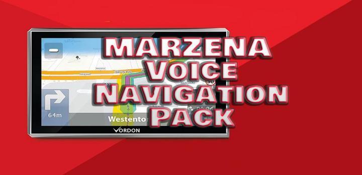 Photo of ETS2 – Marzena Voice Navigation Pack V1 (1.38.x)