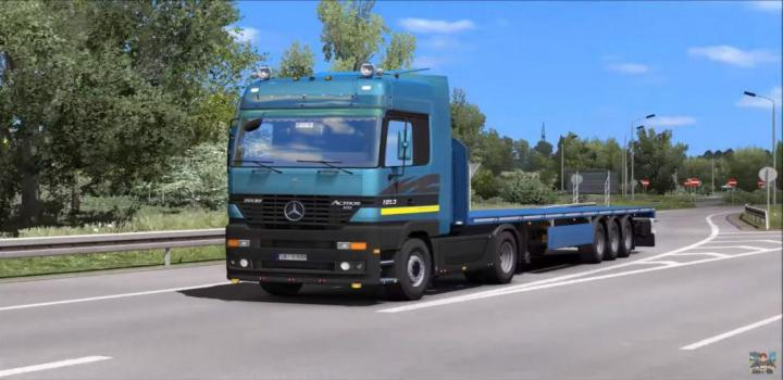 Photo of ETS2 – Mercedes Actros Mp1 V1.3 (1.38.x)