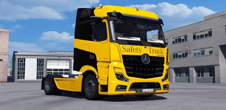 Photo of ETS2 – Mercedes-Benz Actros Mp5 2019 New V1.2 (1.37.x)