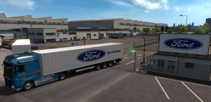 Photo of ETS2 – Real European Companies Reloaded Dx11 (1.38.x)