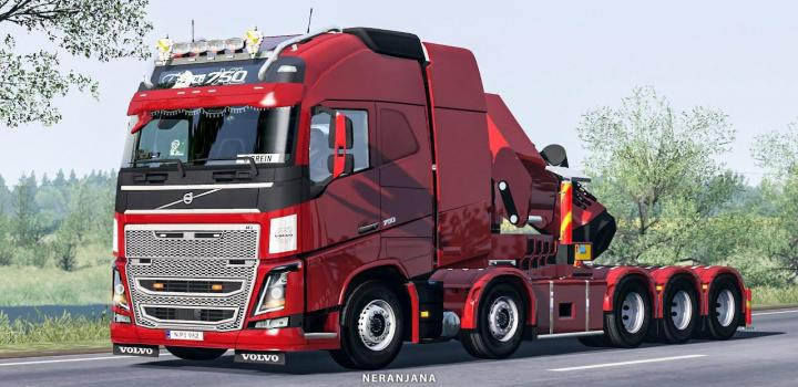 Photo of ETS2 – Rpie Volvo Fh16 2012 Truck V1.38.0.38S
