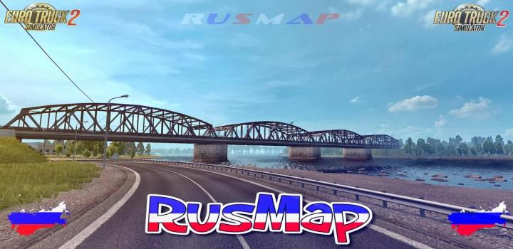 Photo of ETS2 – Rusmap V2.1.2 (1.38.x)