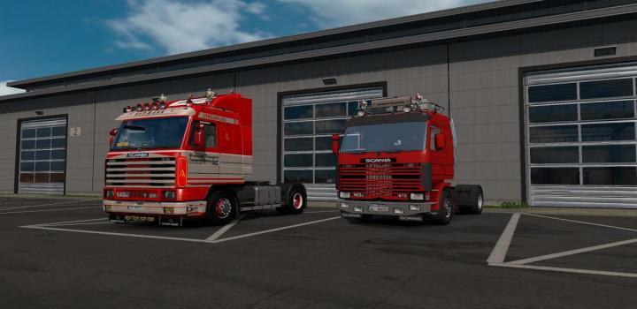 Photo of ETS2 – Scania 143 Hedmark Transport Skin V1 (1.37.x)