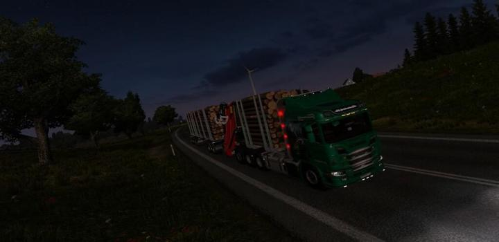 Photo of ETS2 – Scania R Rjl Rigid Forest Parts (1.38.x)