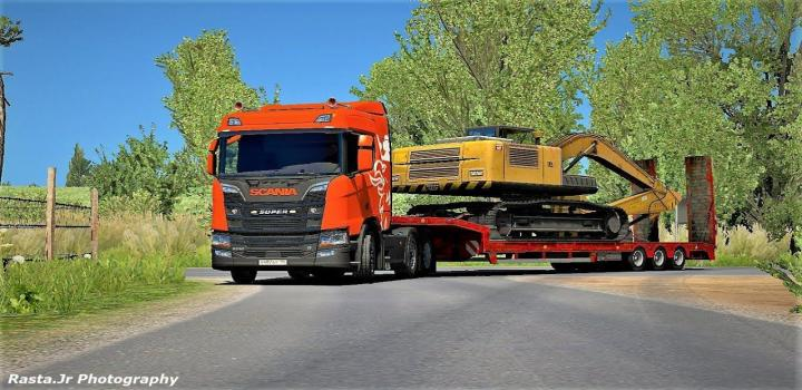 Photo of ETS2 – Scania R950 Konstanitidis (1.38.x)