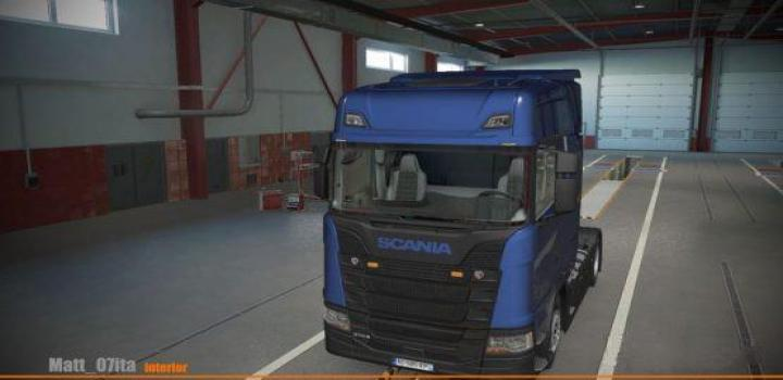 Photo of ETS2 – Scania S Beige/Grey Interior (4 Variants) V1 (1.37.x)